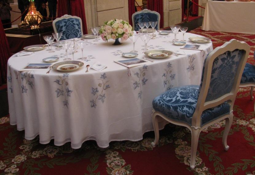 Une table à l'Élysée via muselangues.fr