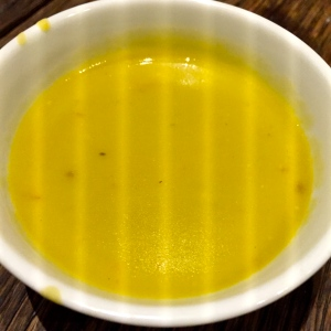 Soupe de pois cassés aux lardons © Greta Garbure
