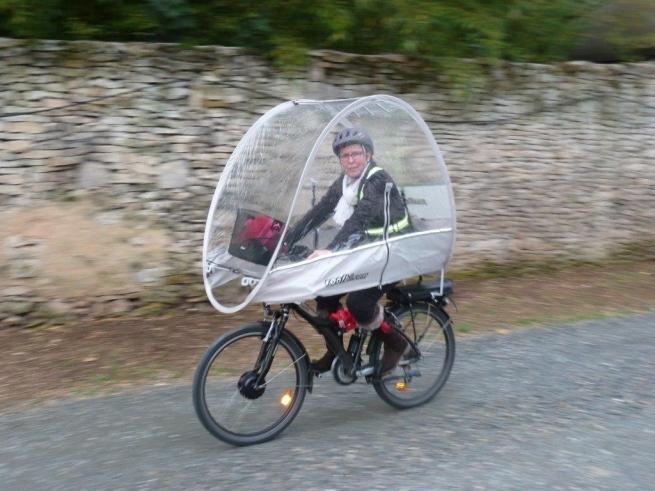 À vélo et à sec !