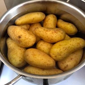 Pommes de terre à l'eau froide © Greta Garbure