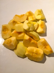 Pommes en quartiers © Greta Garbure
