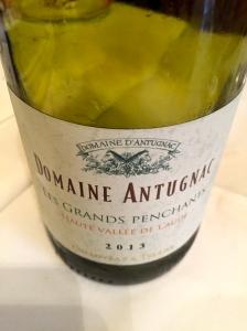 Chardonnay Les Grands penchants Domaine Antugnac © Greta Garbure