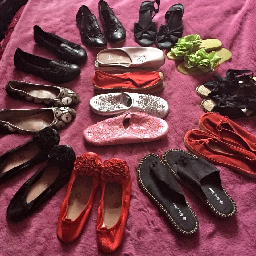Chaussures d'été © Greta Garbure