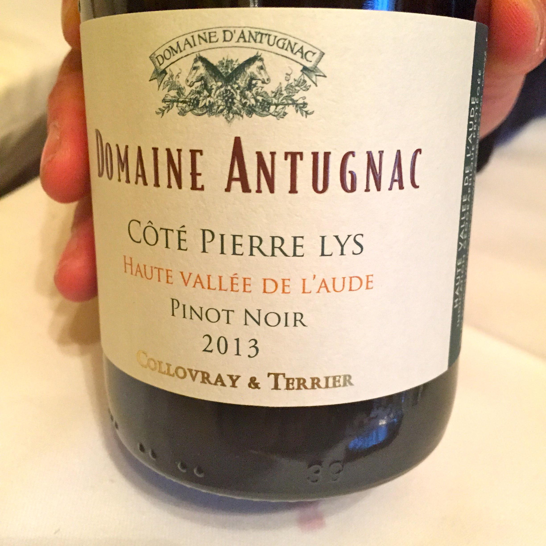 Pinot noir c t pierre lys for La fenetre a cote pinot noir 2012