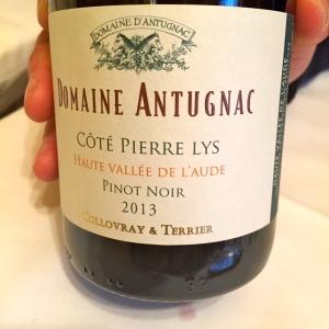 Chardonnay greta garbure for La fenetre a cote pinot noir 2012