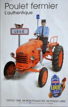 Poulet fermier de Loué