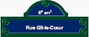Rue Gît-le-Cœur