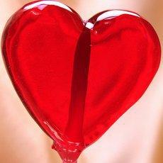 Sucette cœur rouge via instemporel.com