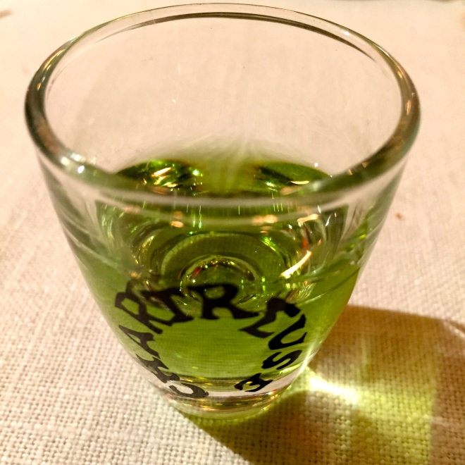 Chartreuse verte © Greta Garbure