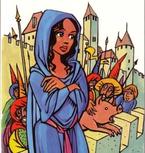 Dame Carcas © Éditions Loubatières (Dame Carcas de Jean-Claude Pertuzé)