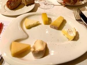 La palette de fromages © Greta Garbure