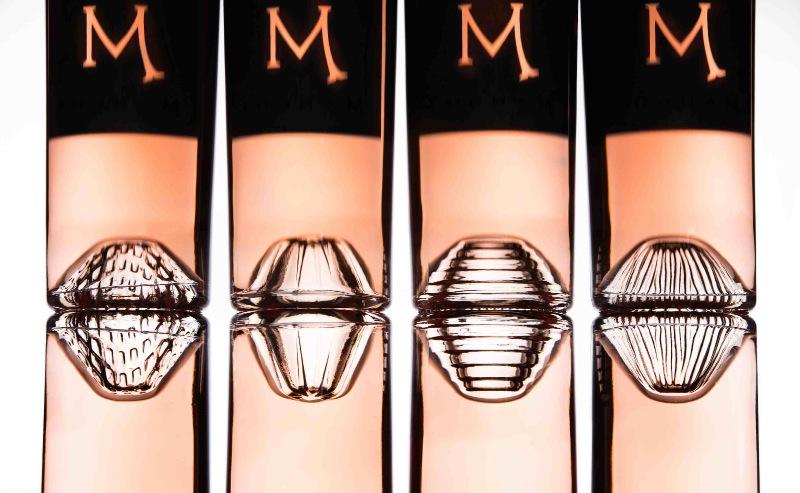 Les culs-de-bouteille du rosé « M » de Château Mangot (famille Todeschini).
