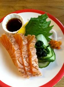 Tataki saumon mi-cuit © Greta Garbure