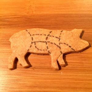 Sablé cochon © Greta Garbure