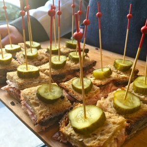 Sandwich jambon façon pastrami © Greta Garbure