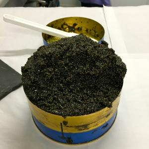 Boîte caviar Baeri (Italie) © Greta Garbure
