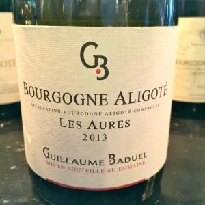 Bourgogne aligoté « Les Aures » Guillaume Baduel © Greta Garbure