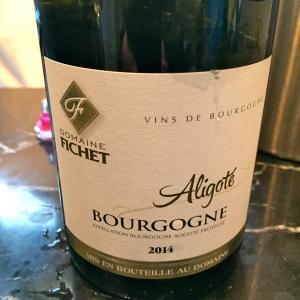 Bourgogne aligoté domaine Fichet © Greta Garbure