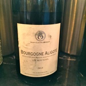 Bourgogne aligoté Les Moutots © Greta Garbure