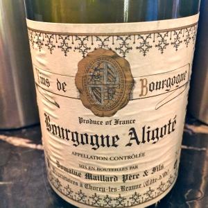 Bourgogne aligoté Maillard © Greta Garbure