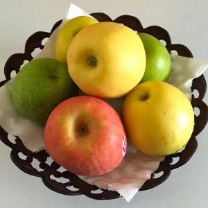 Pommes de plusieurs variétés © Greta Garbure