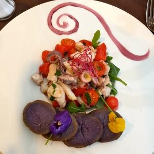 Salade de poulpe « la piovra » © Greta Garbure