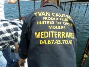 Yvan Caussel, producteur d'huîtres © Greta Garbure