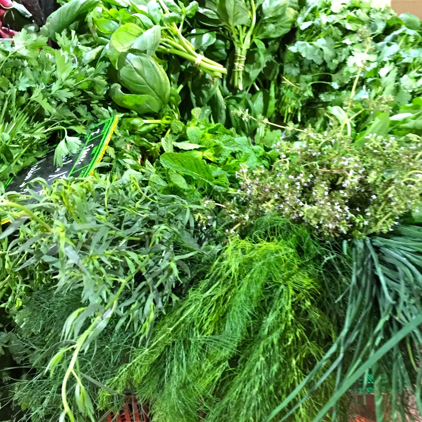 Herbes aromatiques © Greta Garbure