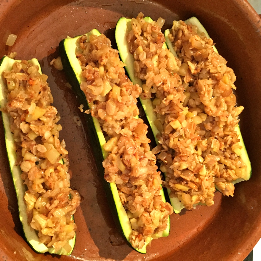 Courgettes farcies © Greta Garbure
