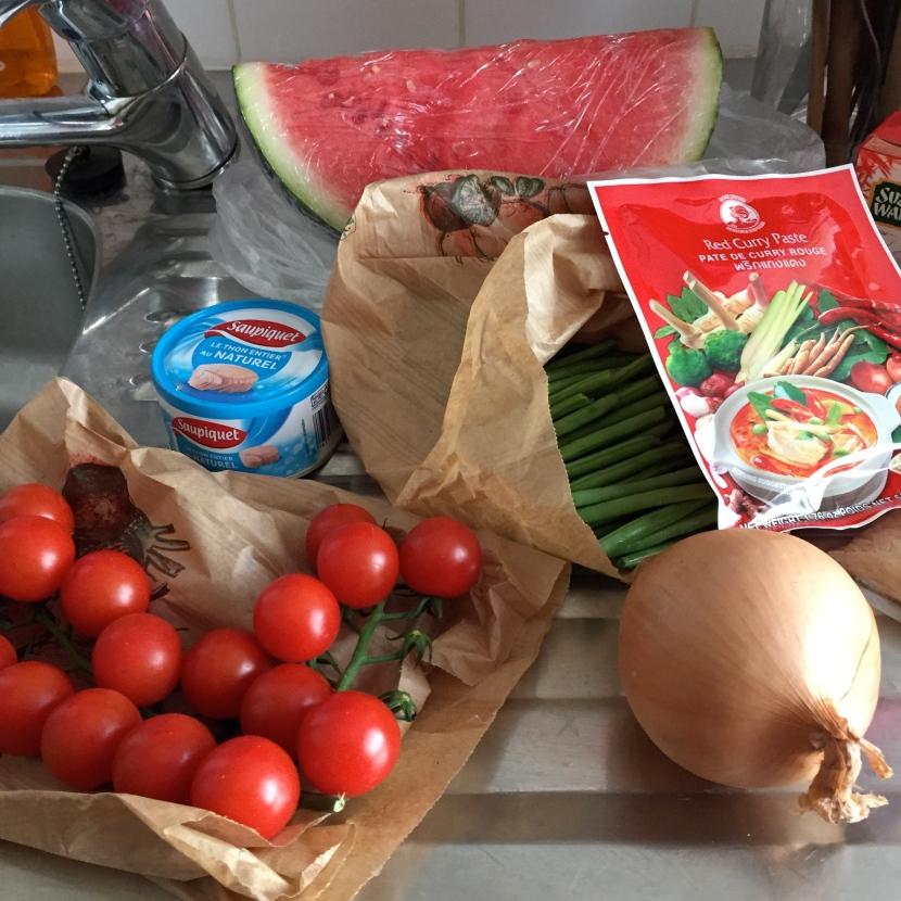 Gros plan sur certains ingrédients © Greta Garbure