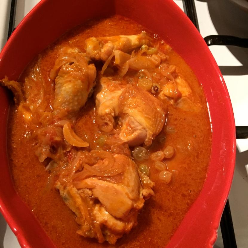 Le poulet cuit © Greta Garbure
