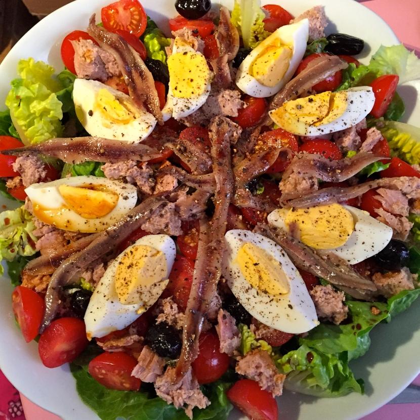 Salade niçoise © Greta Garbure