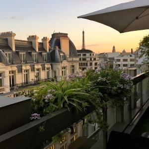 La vue depuis la terrasse du restaurant © Greta Garbure