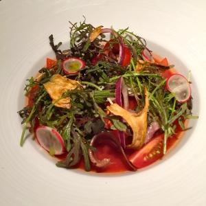 """Salade niçoise """"de mon apprentissage"""" © Greta Garbure"""
