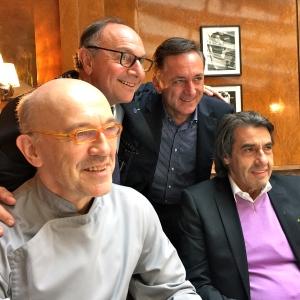 Alberico Penati, Dominique Faye, Franco Canta, Pier Paride Silli © Greta Garbure