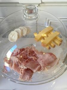 Jambon et fromage © Greta Garbure