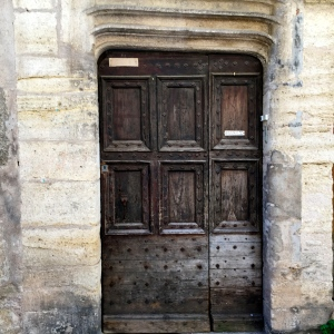 Porte brune © Greta Garbure
