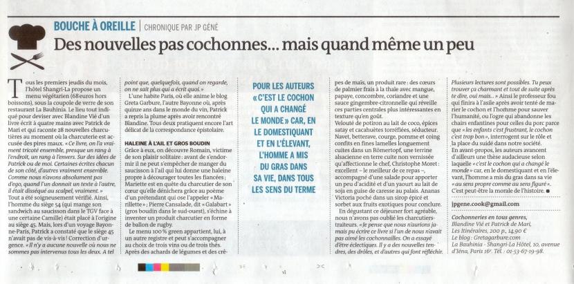 Article Le Monde Jean-Paul Gené