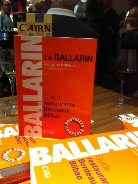 Ballarin_livre_Bayonne