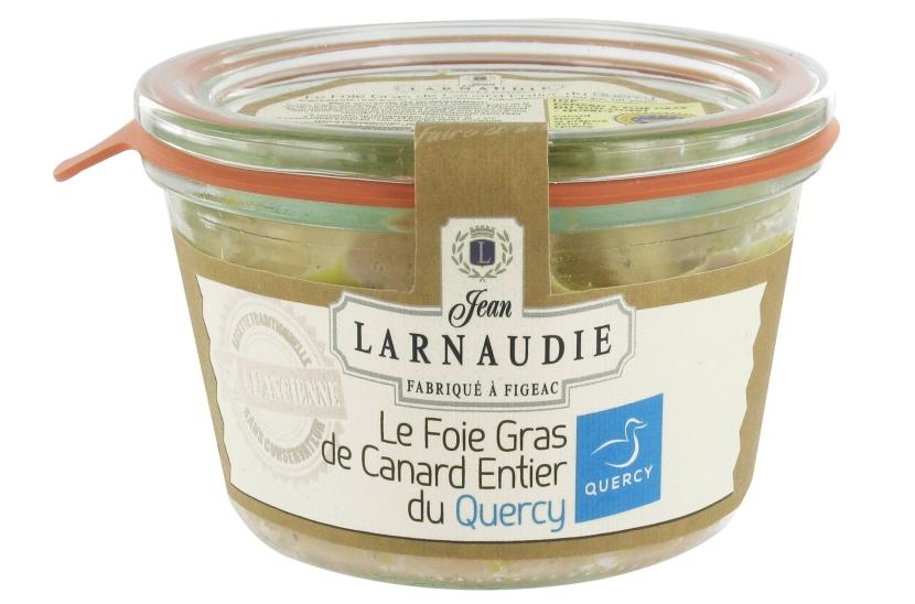 Foie gras de canard entier du Quercy Larnaudie