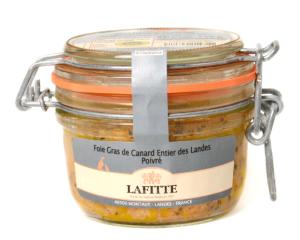Foie gras Lafitte poivré