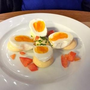 Les œufs durs mayonnaise© Greta Garbure