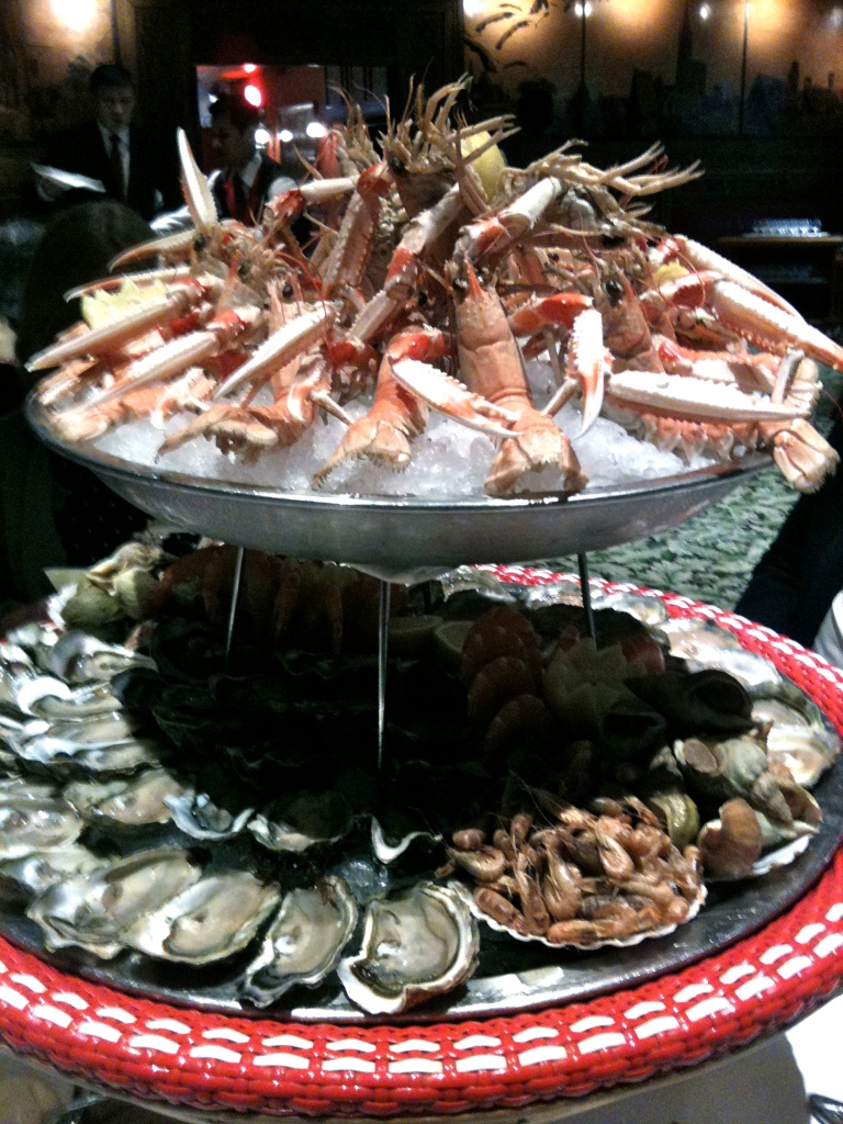 Plateau de fruits de mer © Greta Garbure