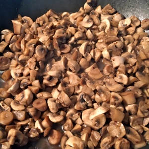 Faites cuire les champignons © Greta Garbure