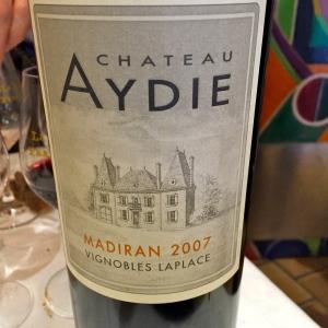 Madiran Château Aydie 2007 © Greta Garbure