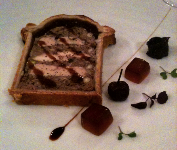 Pâté en croûte (servi chez la Mère Brazier) © Greta Garbure