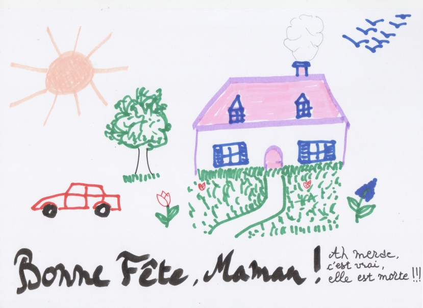 Bonne fête Maman © Greta Garbure