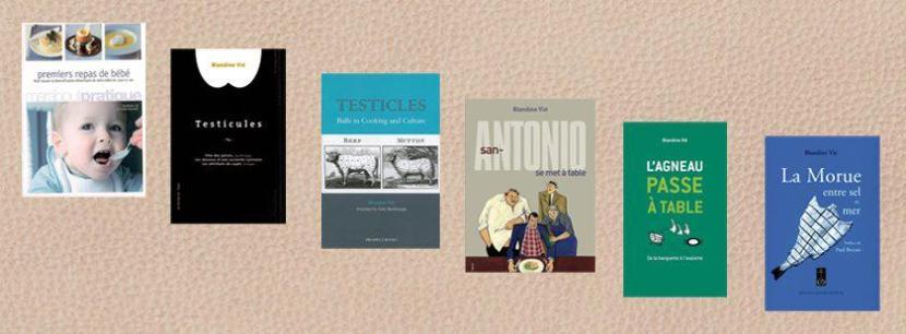 Quelques livres de Blandine