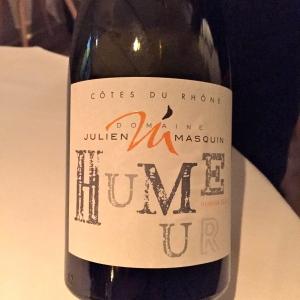 Vin 1 - Côtes-du-Rhône blanc Humeur © Greta Garbure