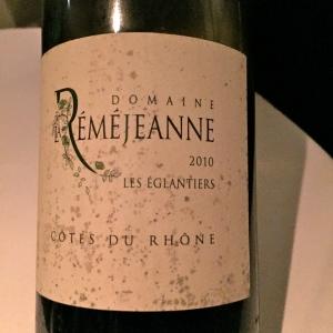 Vin 3 - Côtes du Rhône domaine de La Réméjeanne 2010 © Greta Garbure